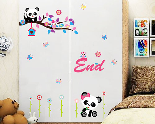 Wall Sticker Panda