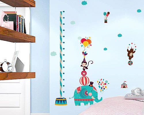 Wall Sticker Circus Measure - SK9188