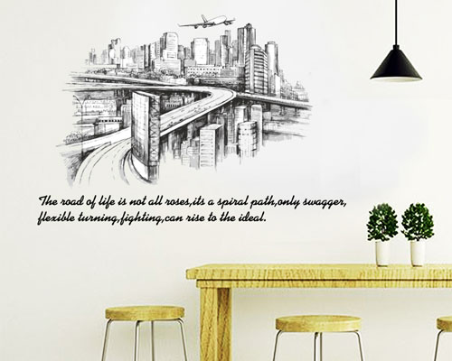 Wall Sticker Road of Life - SK9224