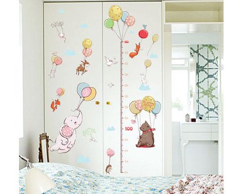 Wall Sticker Elephant Measure - SK9275