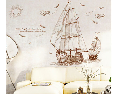 Wall Sticker Ship - XL8277