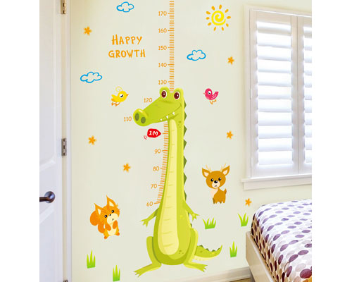 Wall Sticker Croc Measure - XL8283