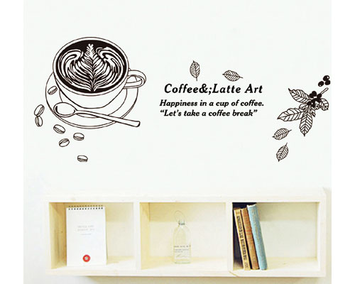 WallSticker Latte Art - JM8380
