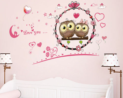 Wall Sticker Owls - XL7207