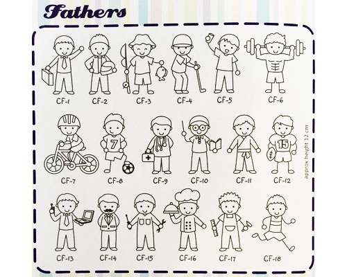 Family Sticker - Fathers