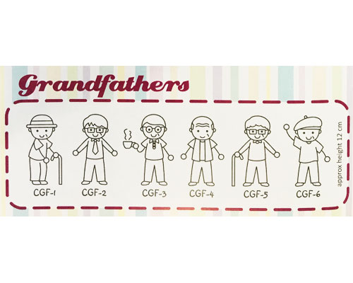 Family Sticker - Grand Fathers