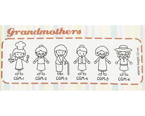 Family Sticker - Grand Mothers