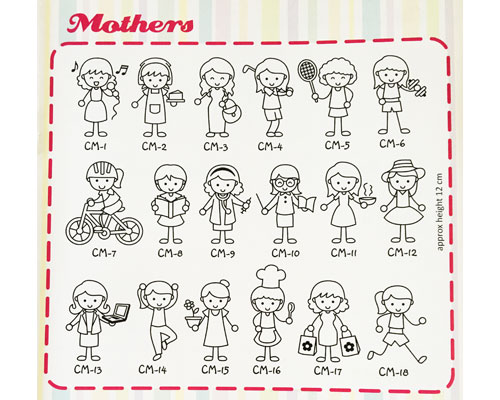 Family Sticker - Mothers