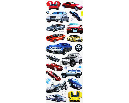Cars Collections A - Glass Sticker