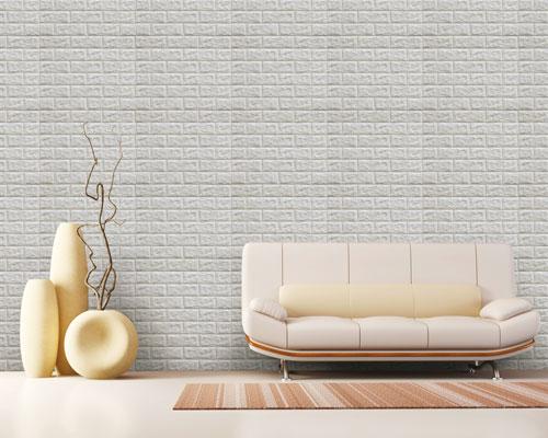 Korea Wall 3D Brick - CI24AB - Grey