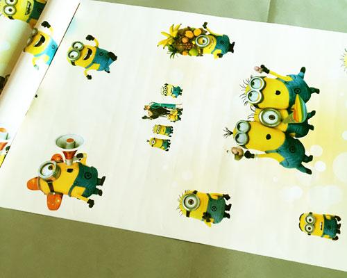 Wall Paper Sticker 10M - D942