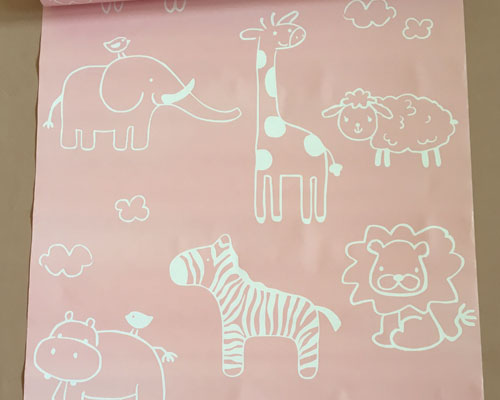 Wall Paper Sticker 10M - D958