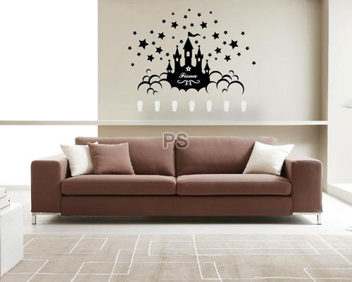 Star Castle - Wall Sticker Hook